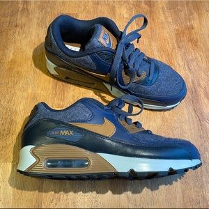 Nike Mens Air Max 90 Premium 'Thunder